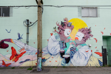 Vancouver Mural Festival: You'll get it when you see it, 5 Print Ad by One Twenty Three West
