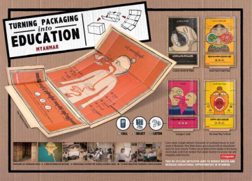 Colgate: TURNING PACKAGING INTO EDUCATION - YOUR DIGESTIVE SYSTEM Design & Branding by Red Fuse, Y&R Kuala Lumpur
