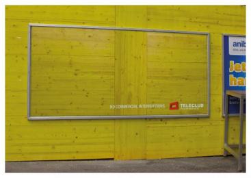 Teleclub: Interruptions, 3 Outdoor Advert by Advico Y&R Zurich