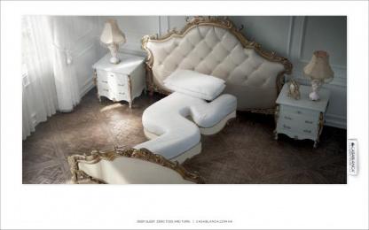 Casablanca: Classic Bedroom Print Ad by Publicis Hong Kong