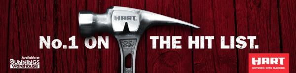 Hart: Hammer Outdoor Advert by Fenton Stephens