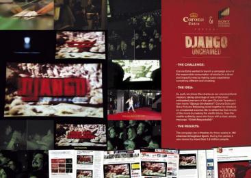 Corona Extra: DJANGO Outdoor Advert by J. Walter Thompson Barcelona