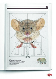 Kia: Kia Mousephant Print Ad by Innocean London