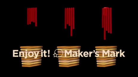 Maker's Mark: Display Movie - Line Film by Hakuhodo Tokyo, SIX Tokyo, Tohokushinsha Film Corporation