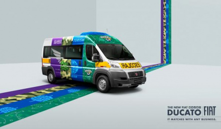 Fiat: Bus Print Ad by Leo Burnett Tailor Made Sao Paulo