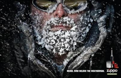 Outdoor Lighter: WEATHERMAN Outdoor Advert by Brunner Pittsburgh