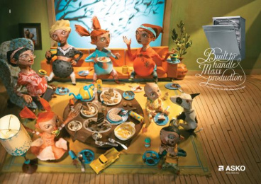 Asko: Mass production Print Ad by SMFB