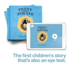 OPSM: Penny the Pirate, 4 Digital Advert by OMD Sydney