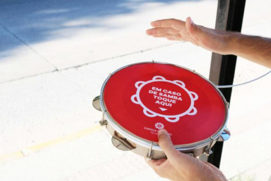 Partage Shopping: Samba Station, 3 Direct marketing by Carma Social Interventions, Mark+