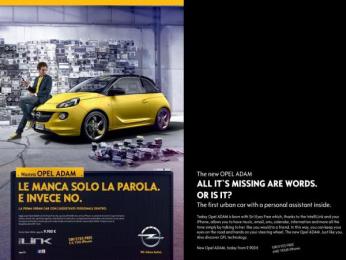 Opel: All it's missing Print Ad by Scholz & Friends Hamburg