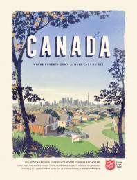 Salvation Army: Moving Print Ad by Grey Toronto, Westside Studio