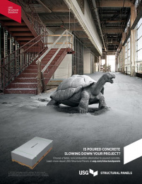USG: Tortoise Print Ad by gyro Chicago