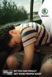 Skoda: Sweet Dreams, 2 Print Ad by Rosapark Paris, 5roadz