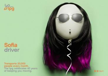 Geneva Public Transports - TPG: Sofia Print Ad by Cavalcade, Federal Studio