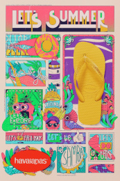 Havaianas: Let's Summer News, 10 Print Ad by ALMAP BBDO Brazil