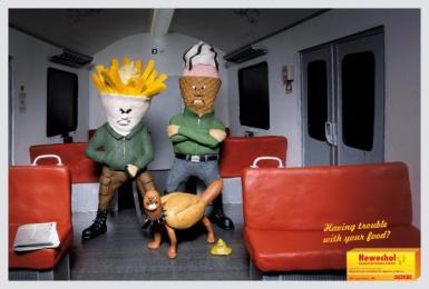 Digestive Pills: SUBWAY Print Ad by DDB Berlin