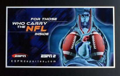 ESPN Classic: CUERPO NFL Print Ad by Fischer America Mexico
