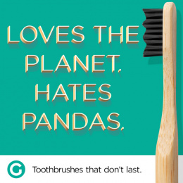 Goodwell Co.: Toothbrushes That Don't Last, 8 Print Ad by Undnyable