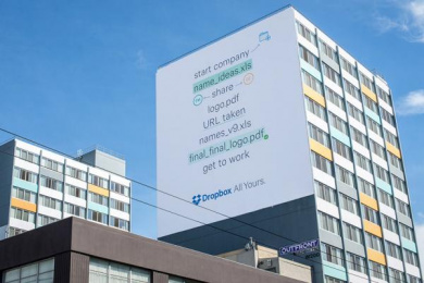 Dropbox: Creative Freedom, 4 Outdoor Advert by 72andsunny, 72andSunny Los Angeles