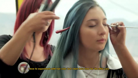 Sunsilk: Sunsilk Cable Car Film by Athos Santa Cruz