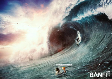 The North Face: Wave Print Ad by Ingenia Lima Peru