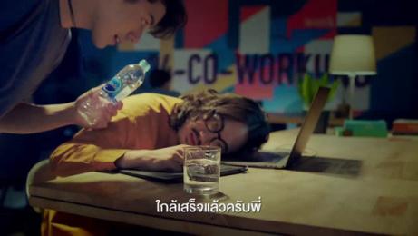 Crystal Drinking Water: Crystal Moments Film by VMLY&R