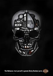 Harley-Davidson: Harley-Davidson Halloween Print Ad by Zulu Alpha Kilo
