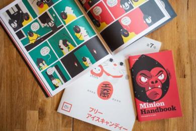 MailChimp: Adventures of Freddie and Mannie Comic Set Design & Branding by Fuzzco