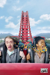 Playland: Corkscrew Print Ad by Rethink