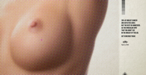 Óptica Billi: Unnoticed Breasts, 2 Print Ad by Zea BBDO Venezuela
