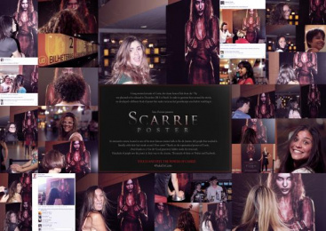 Sony Pictures: Scarrie Poster Digital Advert by DraftFCB Rio De Janeiro