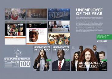 United Colors Of Benetton: UNEMPLOYEE OF THE YEAR Case study by 72andSunny Amsterdam, Fabrica