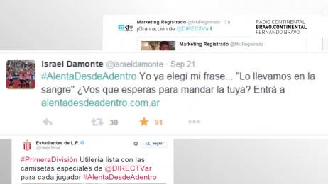 DirecTV: Alentá Desde Adentro Digital Advert by Directv