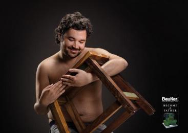 Bauker: Bench Print Ad by Prolam Y&R Santiago