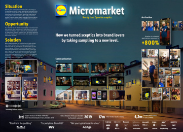 Lidl: Lidl Micromarket, 4 Case study by Giants & Toys, Volt