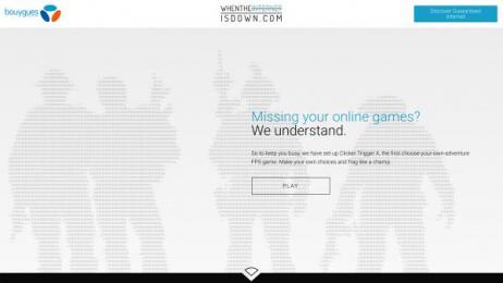Bouygues Telecom: A 100% Offline Website, 8 Digital Advert by BETC