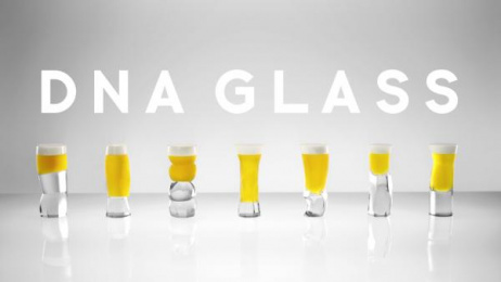 DNA Glass: DNA Glass Project [image] 2 Design & Branding by Dentsu Inc. Tokyo, Sun-ad Company, Suntory Business Expert Limited, Mount inc.