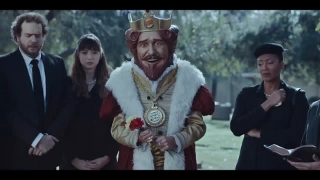 Burger King: Rest in Peace [48 sec] Film by Mullen Boston