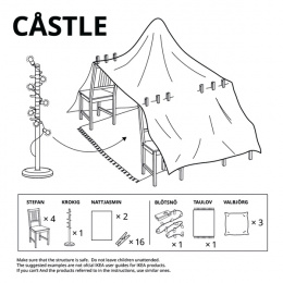 IKEA: Forts at Home - Castle Digital Advert by Instinct Moscow