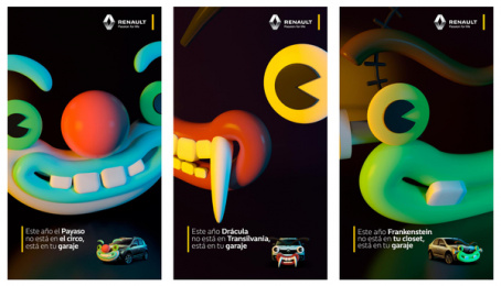 Renault: Renault Monster Car Digital Advert by Publicis Bogota