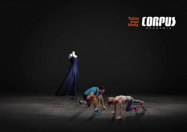 Corpus Academia: Dress Print Ad by Carnaby