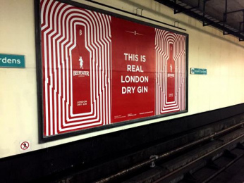 Beefeater: Beefeater Gin UK OOH London Transport Outdoor Advert by Impero