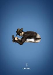 Opinel: Fedora Print Ad by Maryse Eloy School