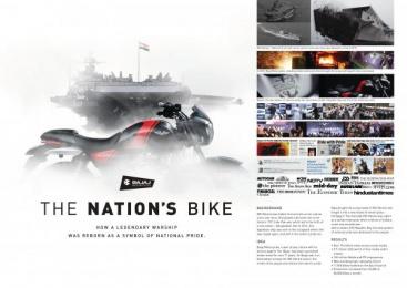 Bajaj V: The Nations Bike Digital Advert by Keroscene Films, Leo Burnett Mumbai