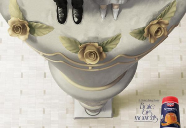 Dr. Oetker: Baking Power Print Ad by Agencia Mood São Paulo
