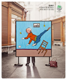 Mutualite chretienne: Fall Print Ad by Euro Rscg Brussels