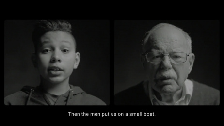 UNICEF (United Nations International Children's Emergency Fund): The Shared Story of Harry and Ahmed Film by 180 Amsterdam, Smuggler