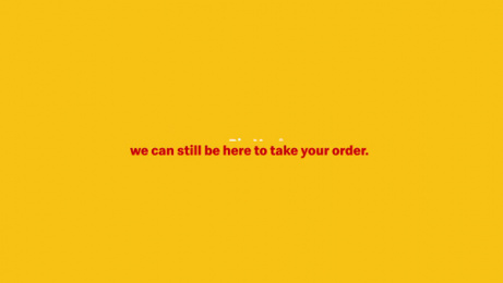 McDonald's: We'll Be Here, 1 Film by Wieden + Kennedy