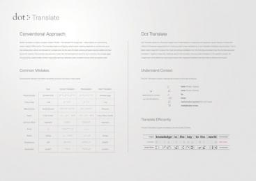 Dot Incorporation: Dot Translate. The First Braille Translator Based on AI., 2 Digital Advert by Serviceplan Munich