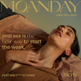 SKYN: Pleasure Calendar - Moanday Digital Advert by Sid Lee Paris